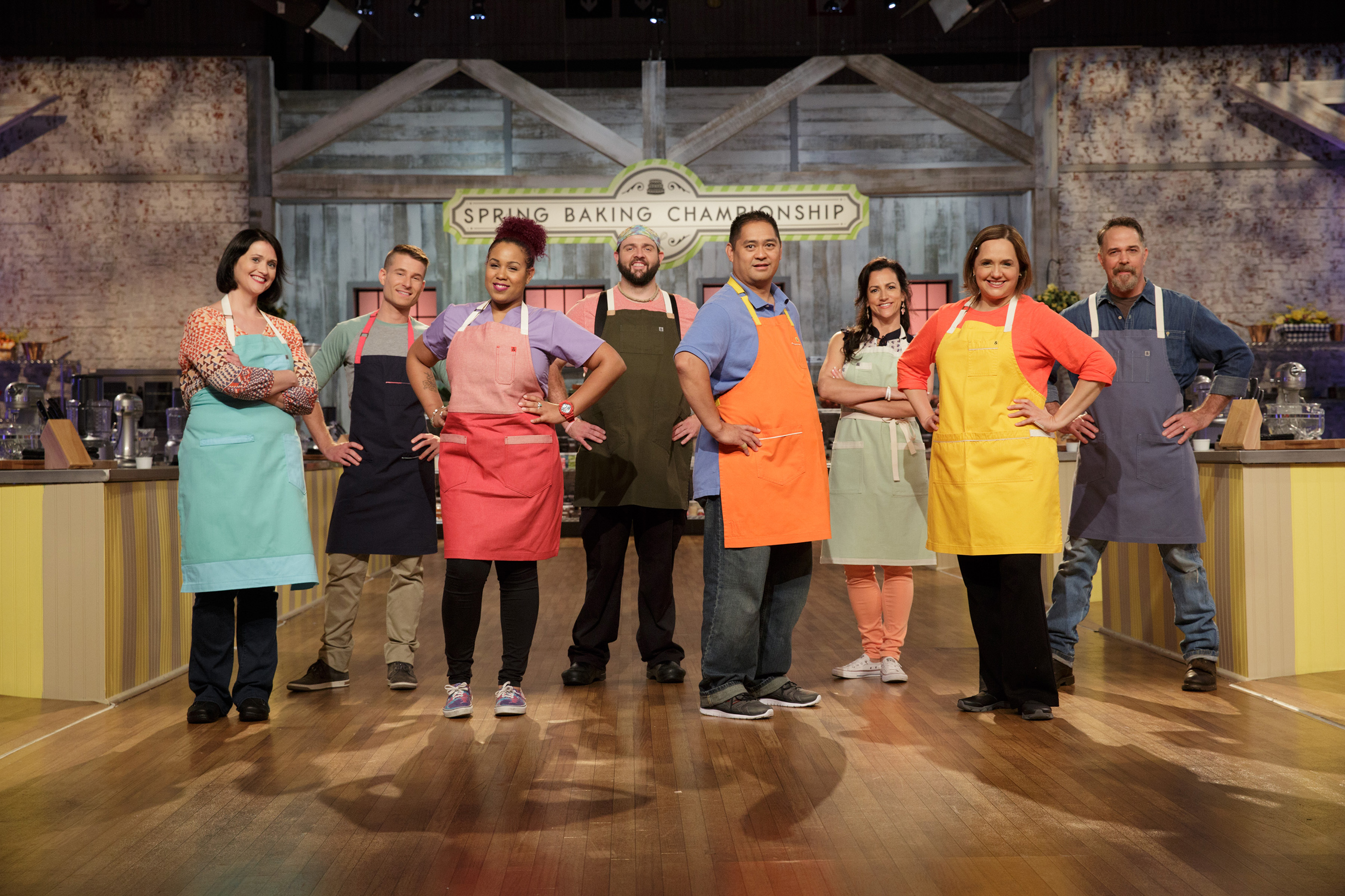 The Contestants of Food Network's Spring Baking Championship