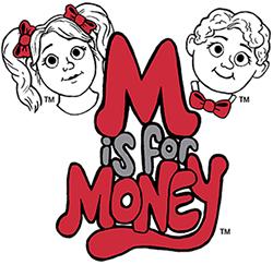 M is for Money logo