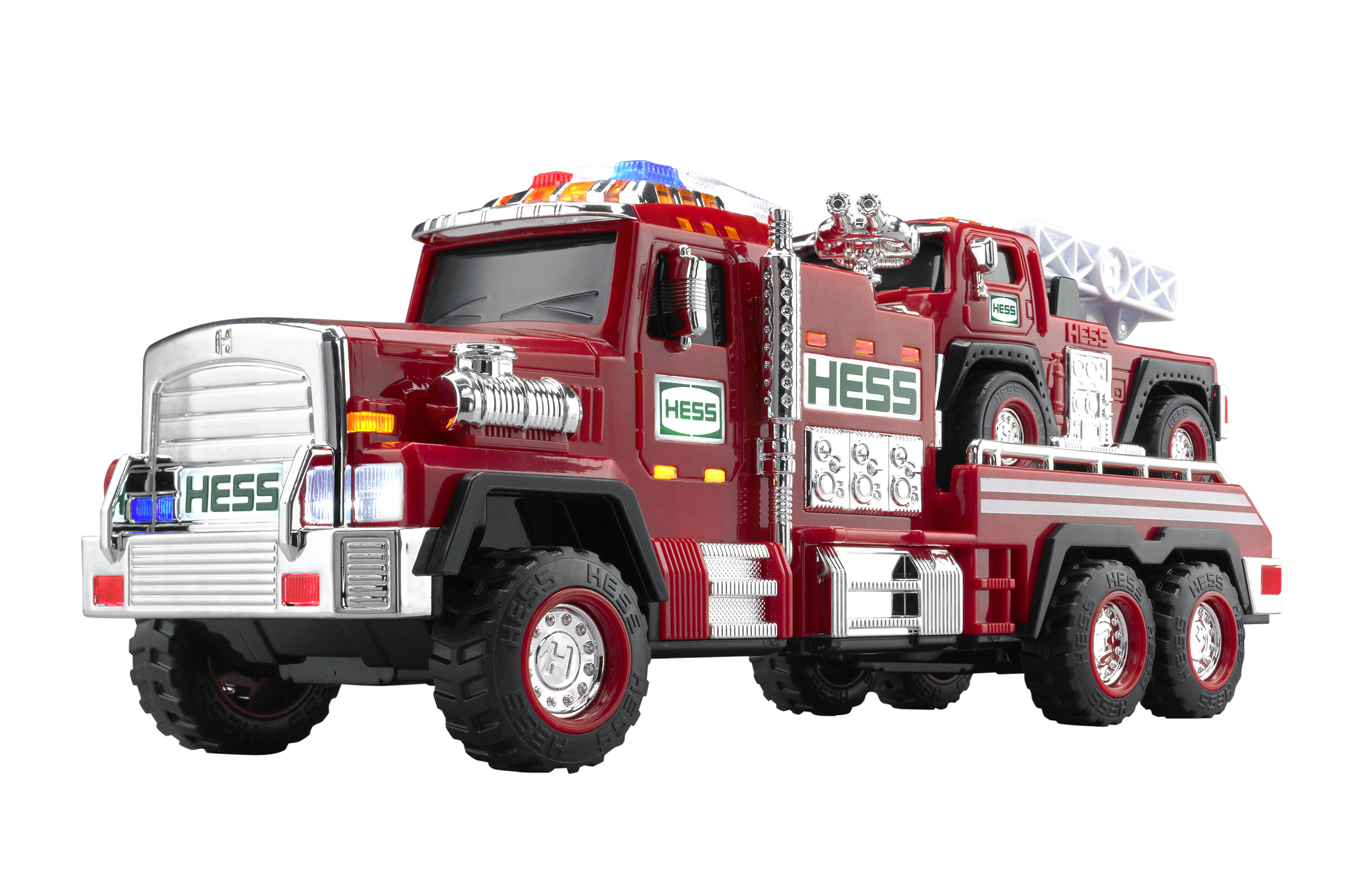 2015 Hess Fire Truck and Ladder Rescue on Sale Nov. 1