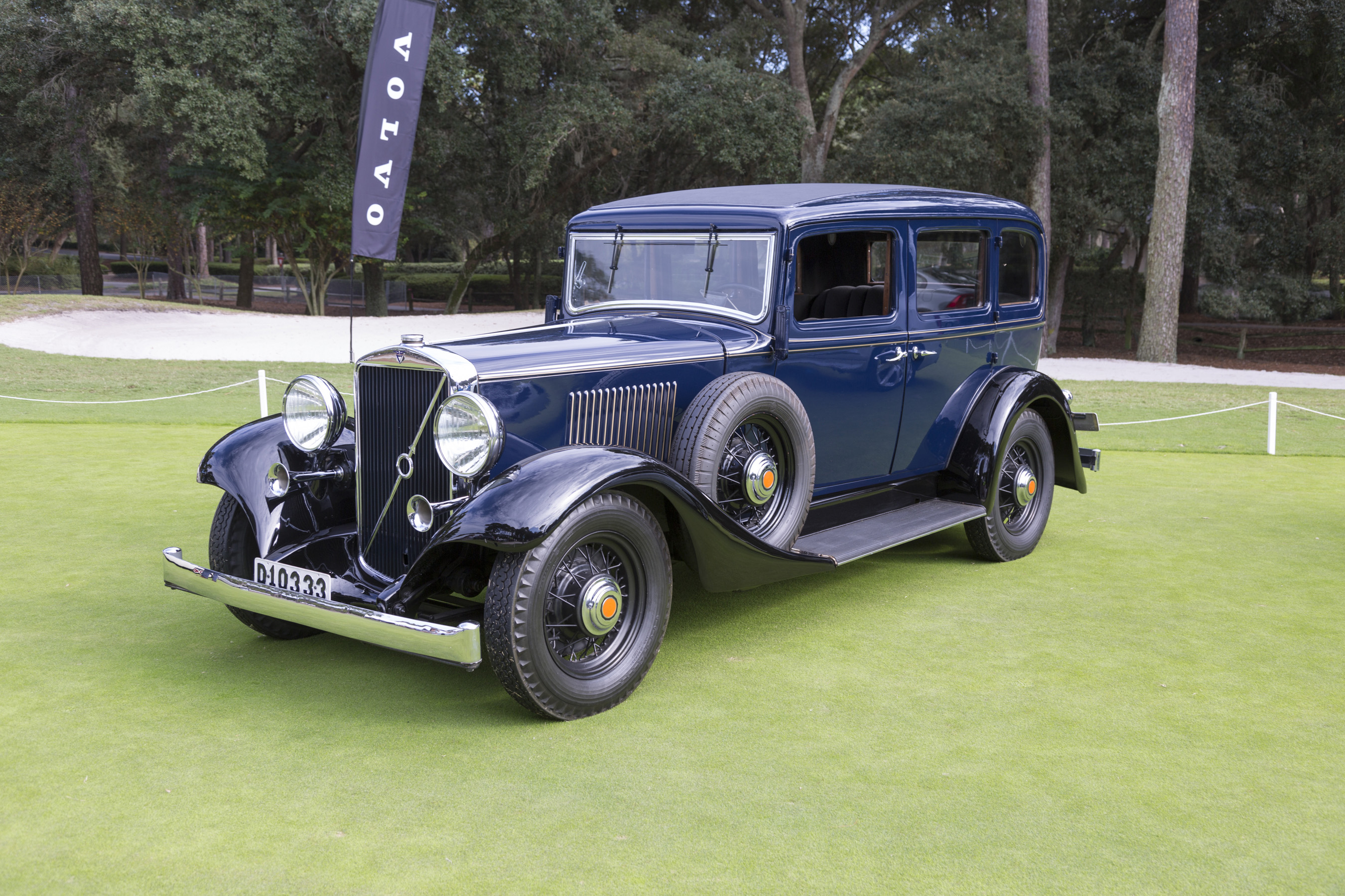 The 1933 Volvo PV654 was Volvo's first luxury car.
