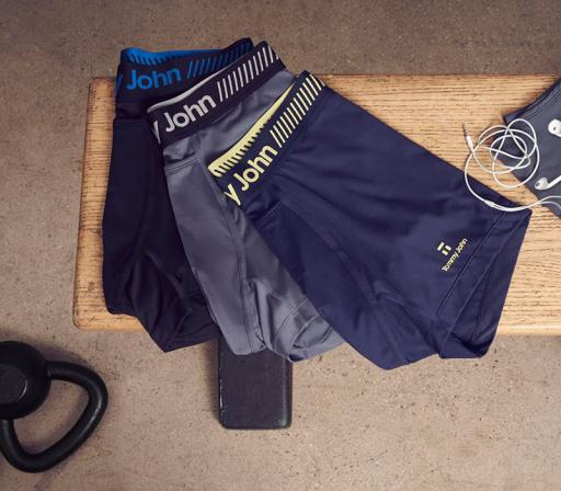 Tommy John Releases Re-Engineered Performance Sport Underwear