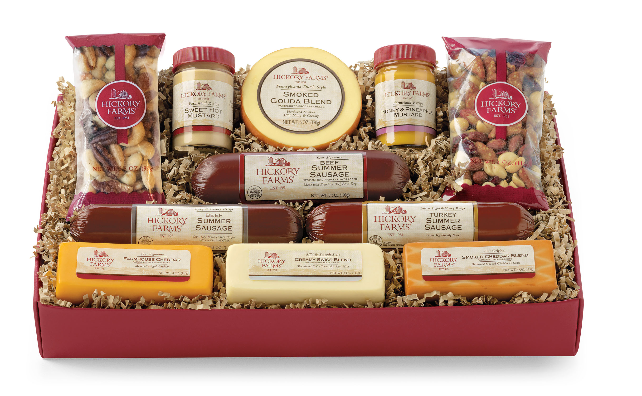Throughout the holiday season, Hickory Farms donate $5 to No Kid Hungry for each Signature Party Planner Gift Box sold.