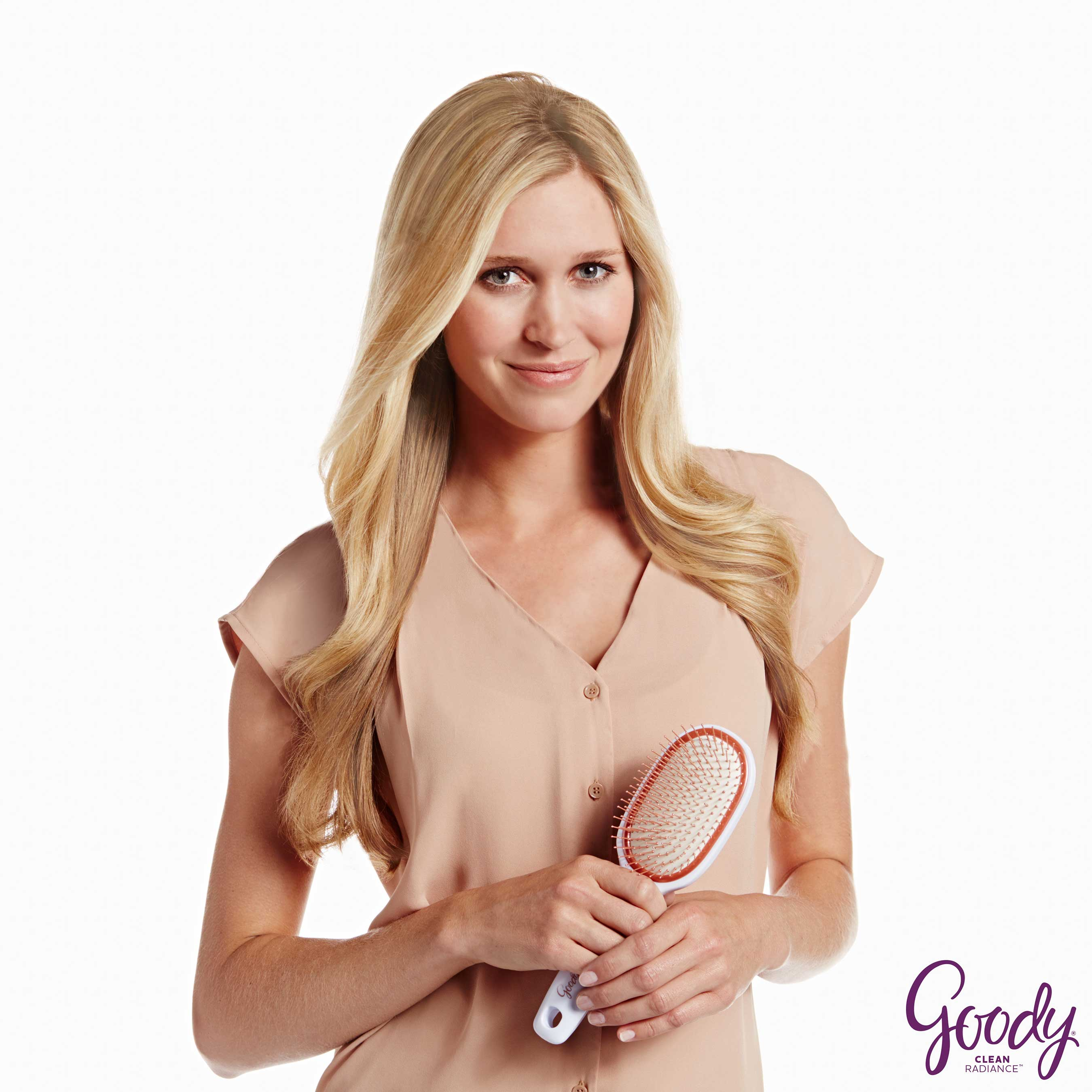 Show off beautiful, healthier looking hair with new Goody Clean Radiance brushes!