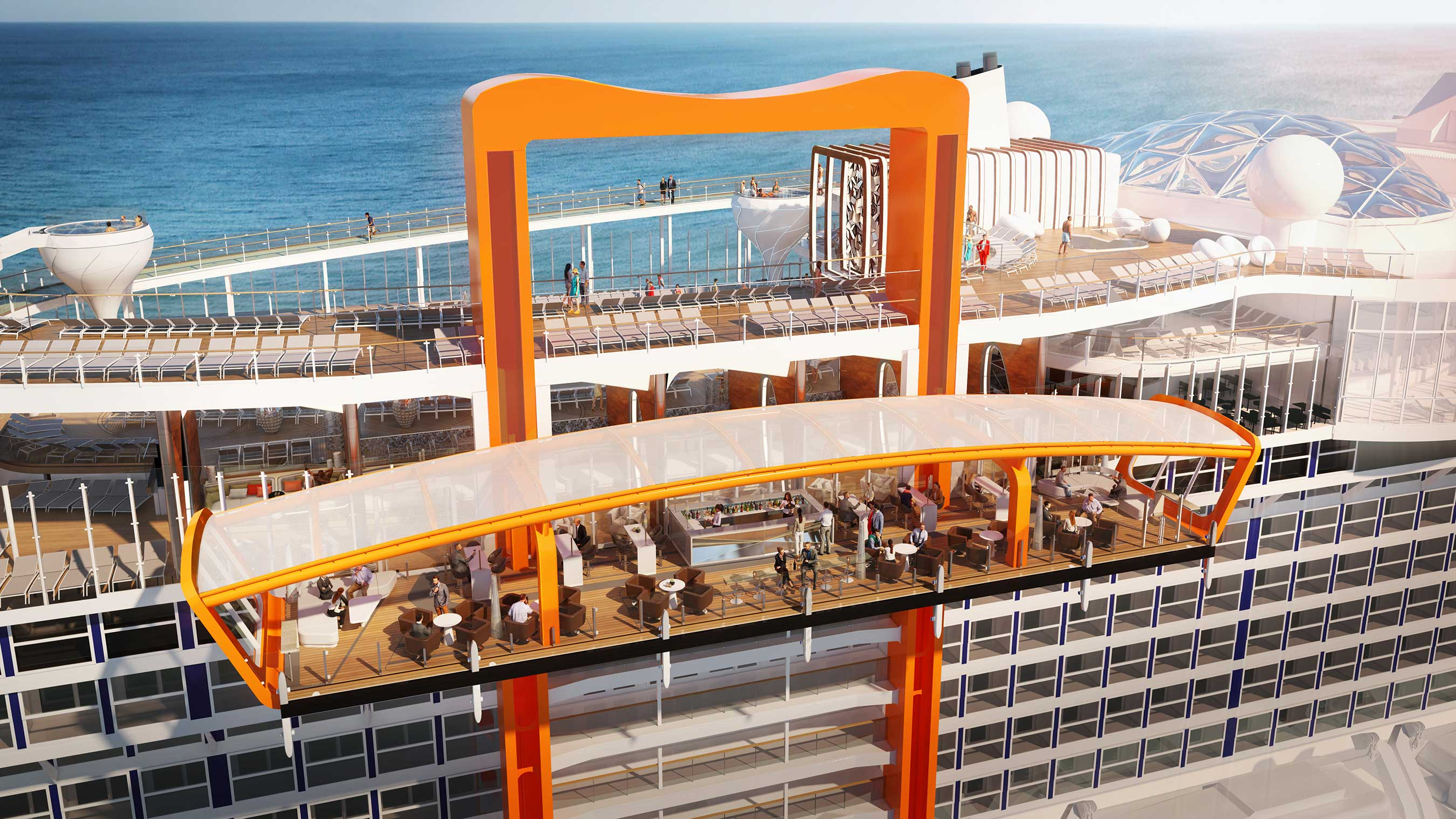 Celebrity Cruises Reveals Celebrity Edge, A Ship Designed to Transform Expectations