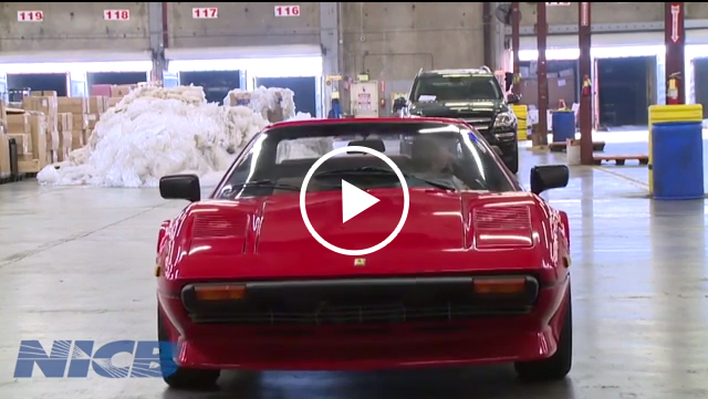 1981 Ferrari Recovered After Theft 29 Years Ago