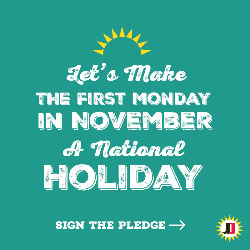 Jimmy Dean is spearheading a petition for people nationwide to make #MondaysForGood a national holiday. To sign the petition, visit www.JimmyDeanShineOn.com.