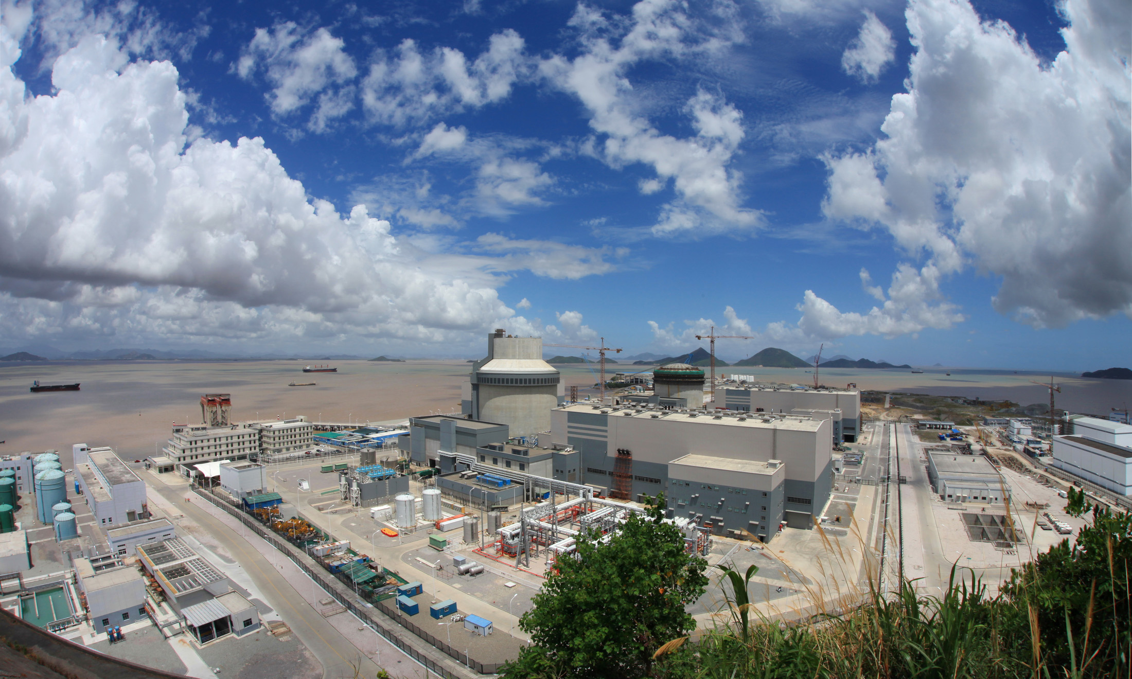 China National Nuclear Corporation is building two Westinghouse AP1000 reactors in Sanmen, supporting thousands of American jobs and helping China to generate the electricity without producing CO2.