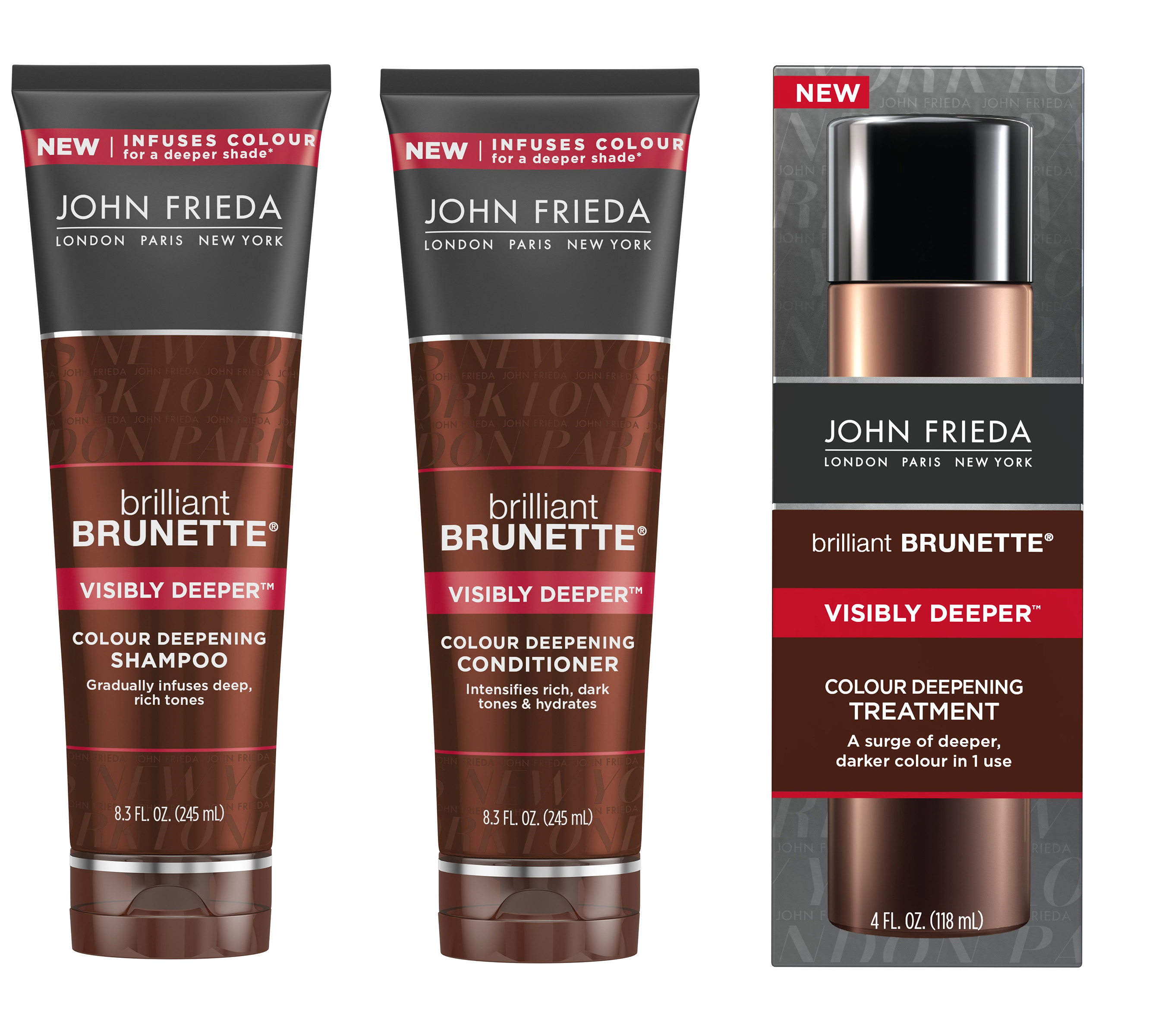 John Frieda Brilliant Brunette Visibly Deeper Collection