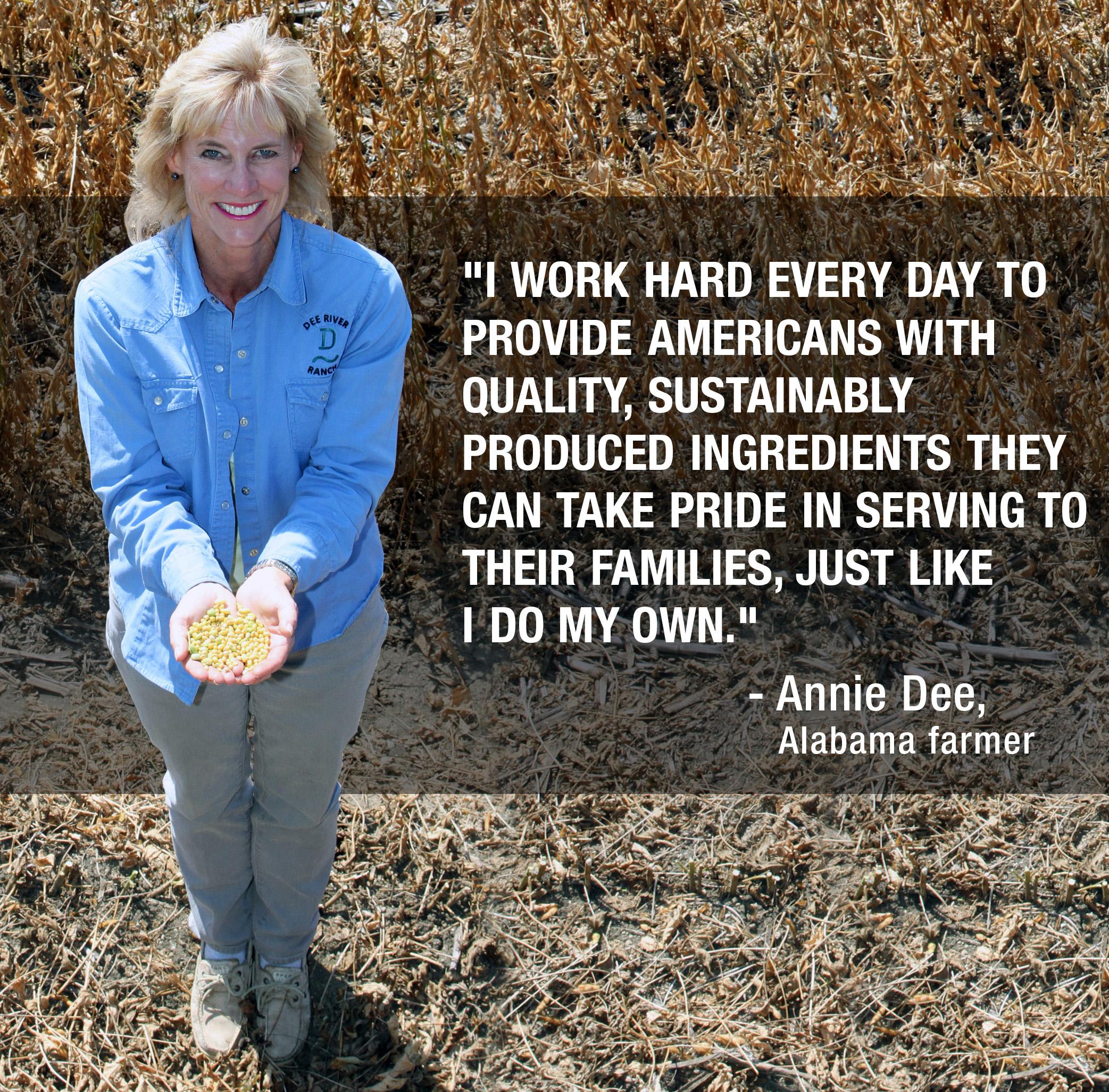 United Soybean Board Farmer-Director Annie Dee