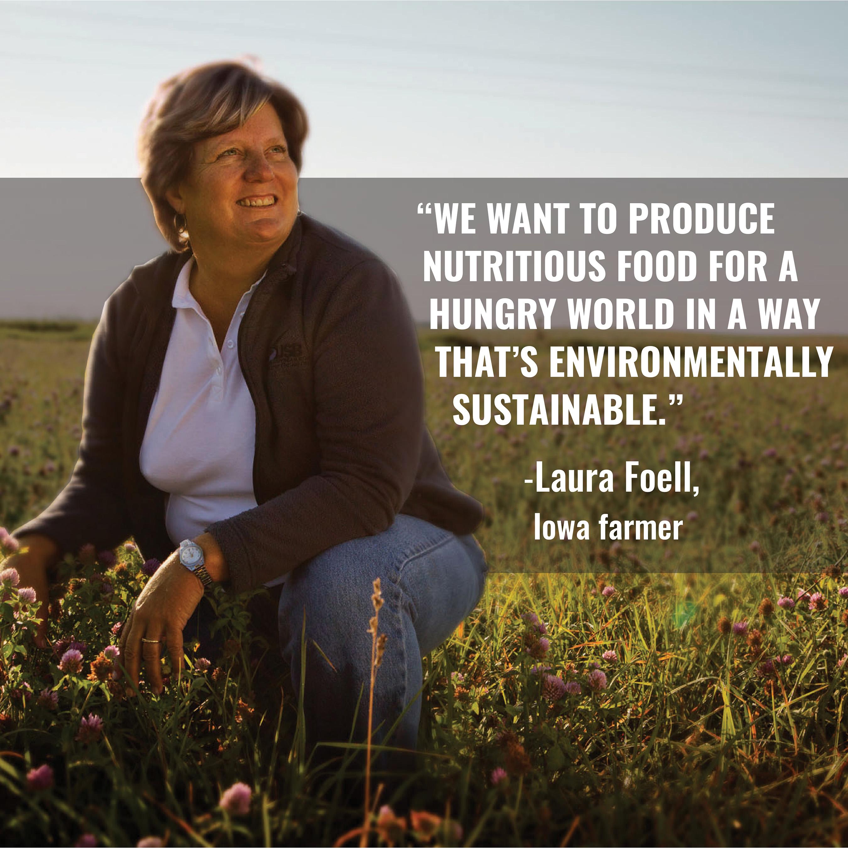 United Soybean Board Farmer-Director Laura Foell