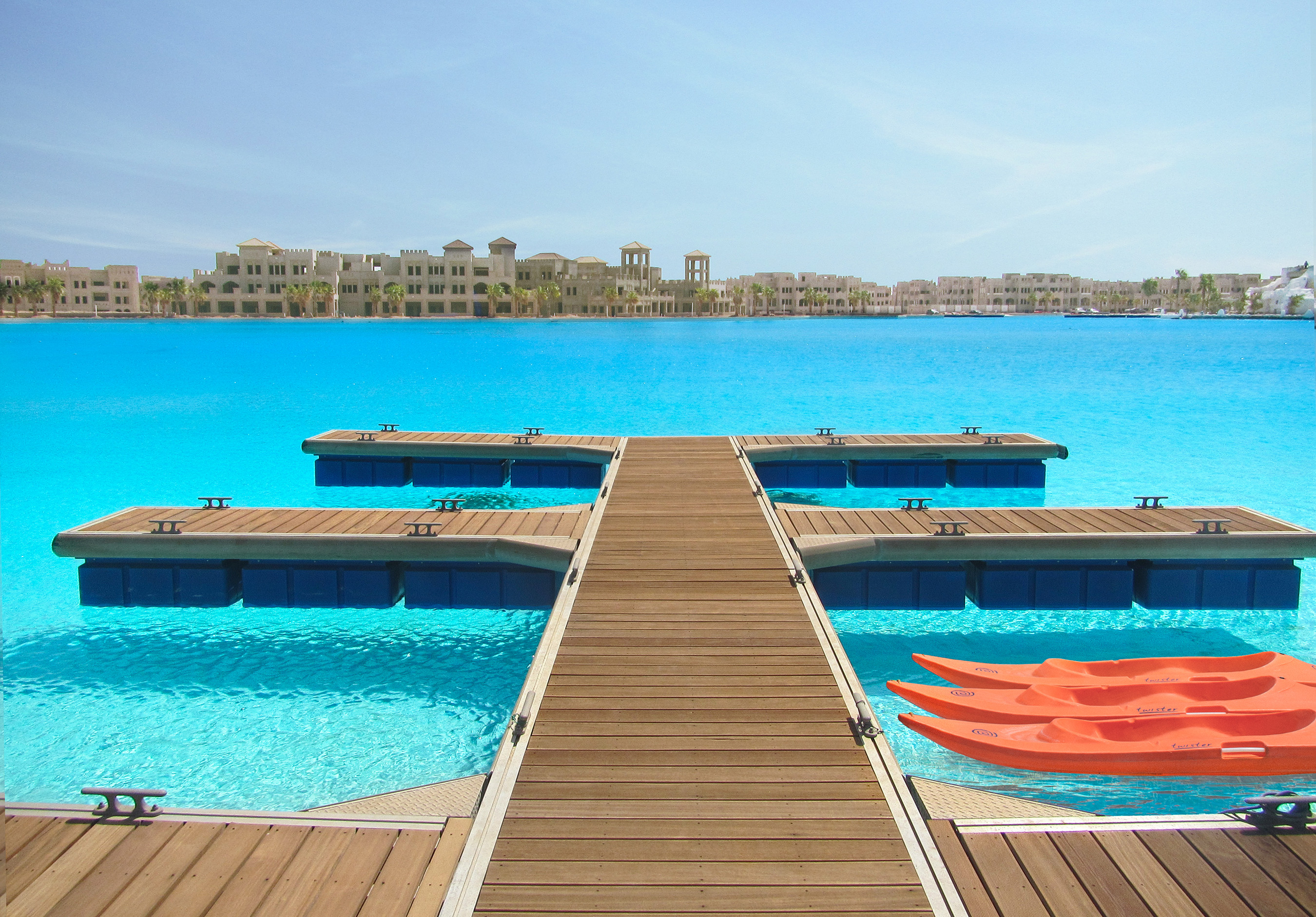 Crystal Lagoons Corp awarded a second Guinness World Record to its growing list of global accolades with the company's 12.5-hectare Sharm El Sheikh man-made lagoon project.