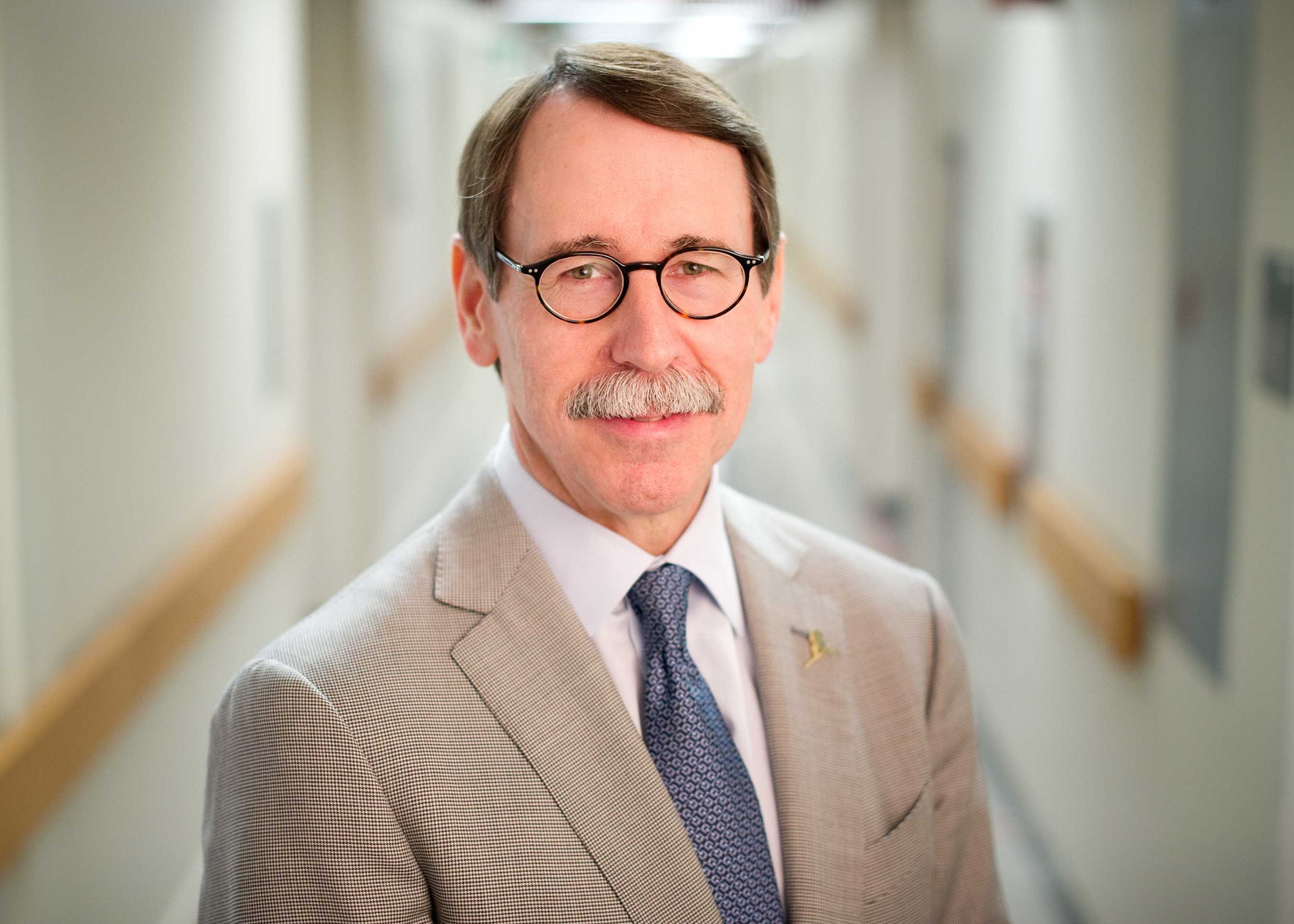 James R. Downing, M.D., president and chief executive officer of St. Jude Children's Research Hospital, was instrumental in launching next-generation DNA sequencing and its treatment applications.
