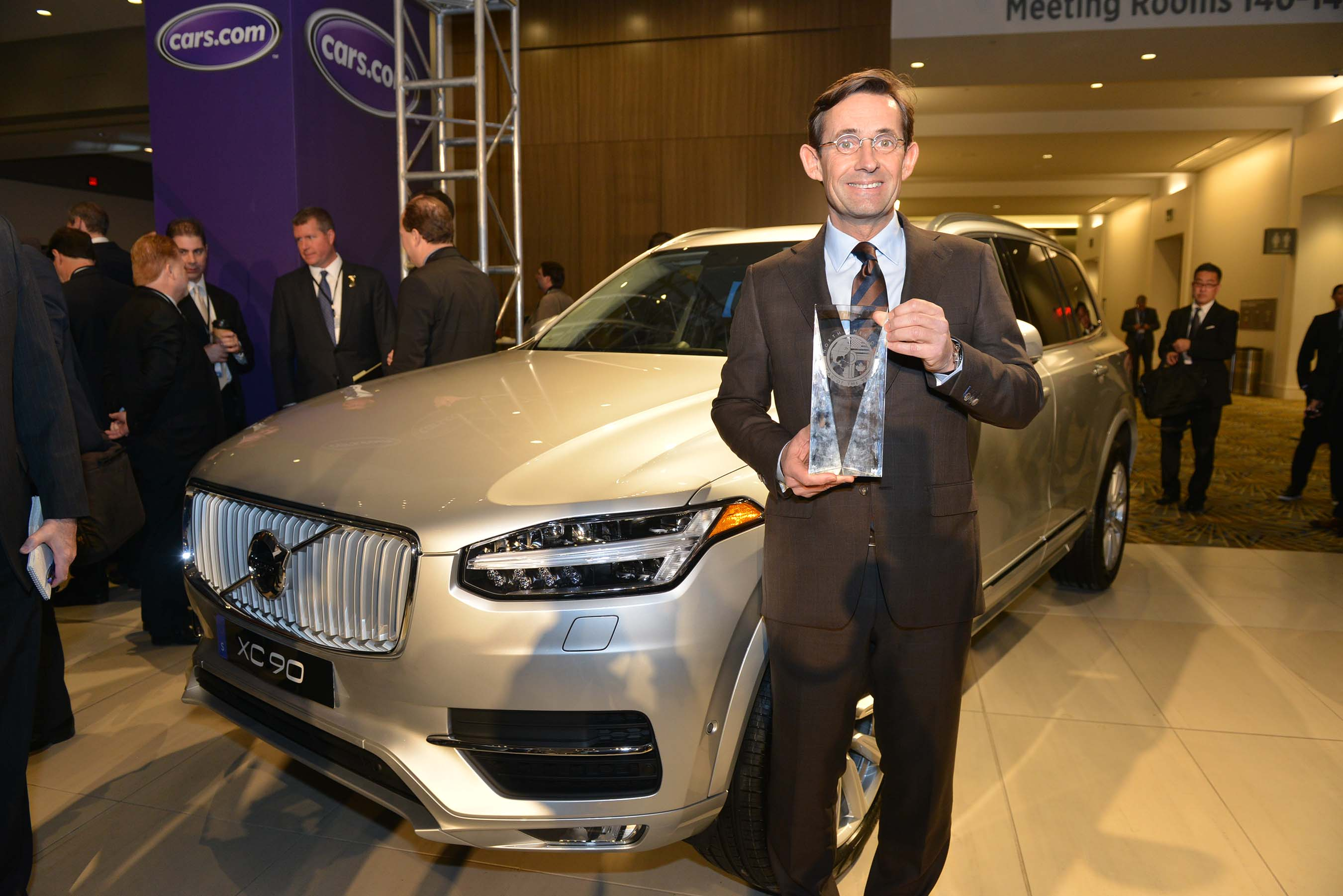 Volvo XC90 Wins 2016 North American Truck/Utility of the Year