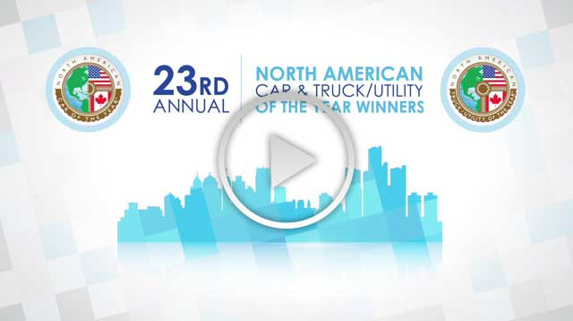Winners of the 2016 North American Car and Truck/Utility of the Year Awards