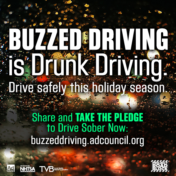 Social Graphic: Buzzed Driving is Drunk Driving