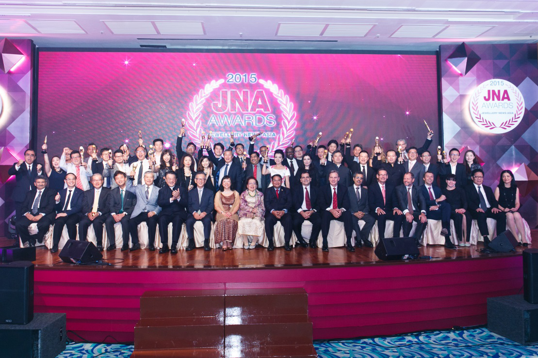 JNA Awards 2015 Recipients and Honourees celebrating