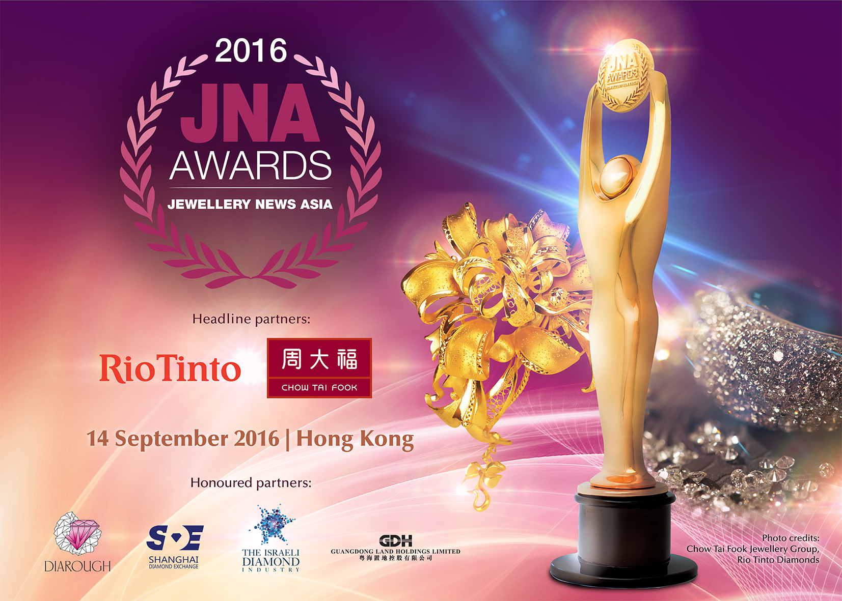 JNA Awards - Premier event for the international jewellery & gemstone industry
