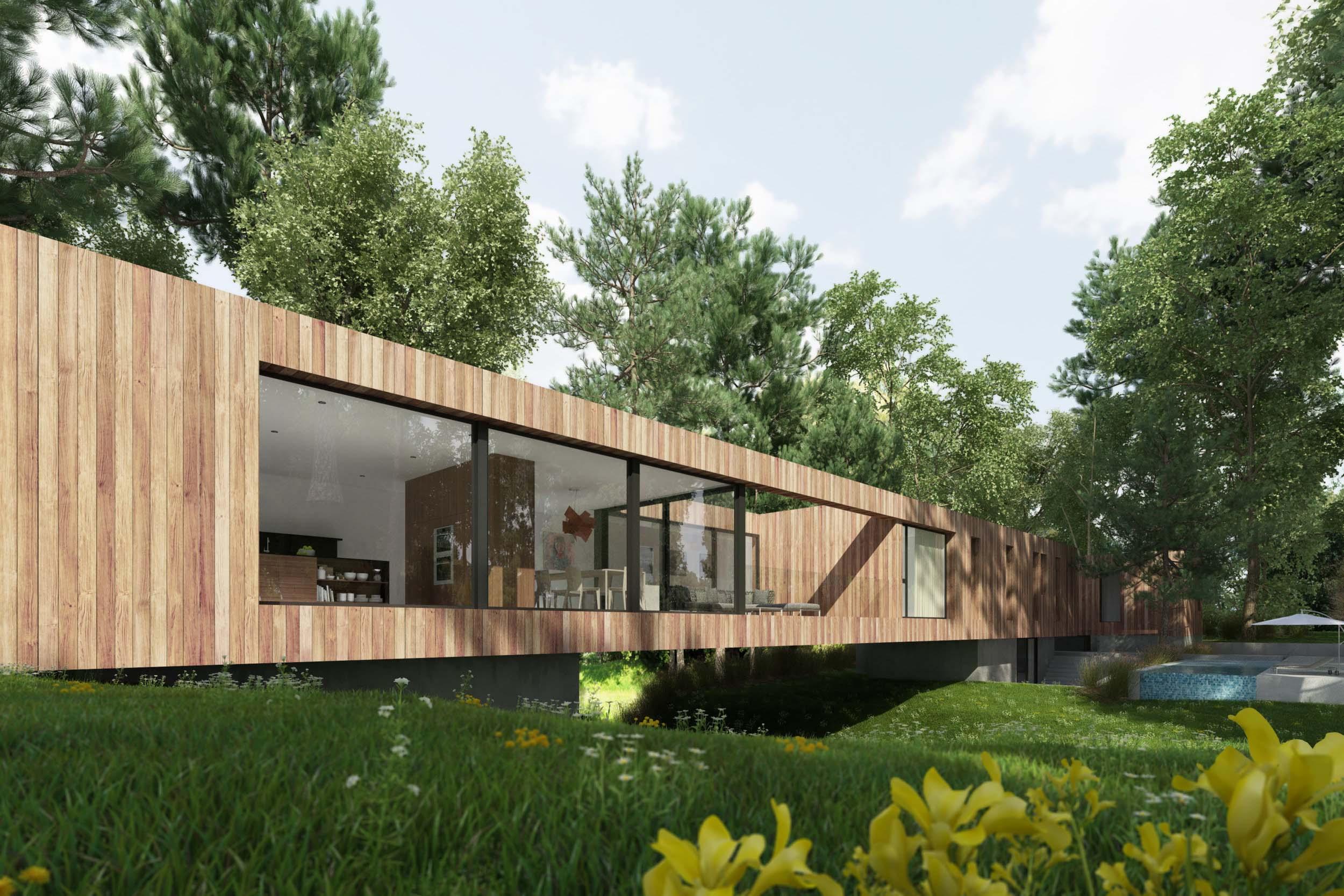 Bridge House Plans