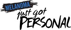 Melanoma Just Got Personal logo