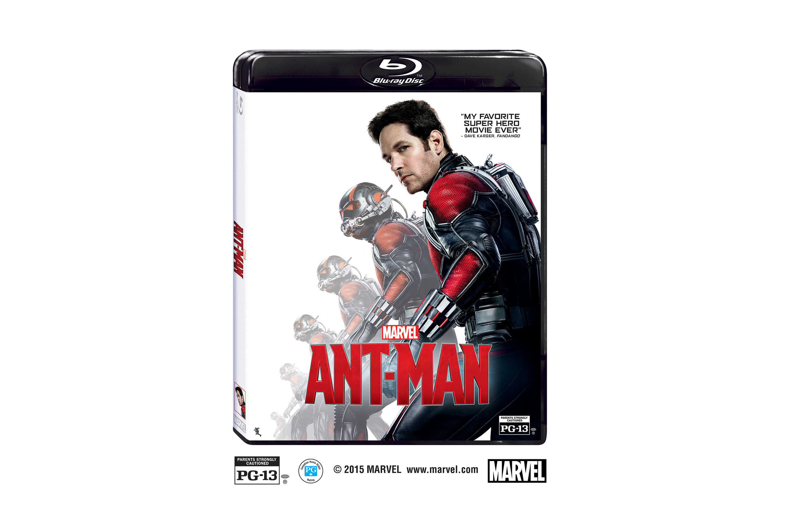 The Perfect Holiday Gift for Movie Fans is Now Available on Digital 3D, Digital HD and Disney Movies Anywhere, and on Blu-ray™ 3D Combo Pack, Blu-ray, DVD, Digital SD and On-Demand December 8, 2015! © 2015 Marvel