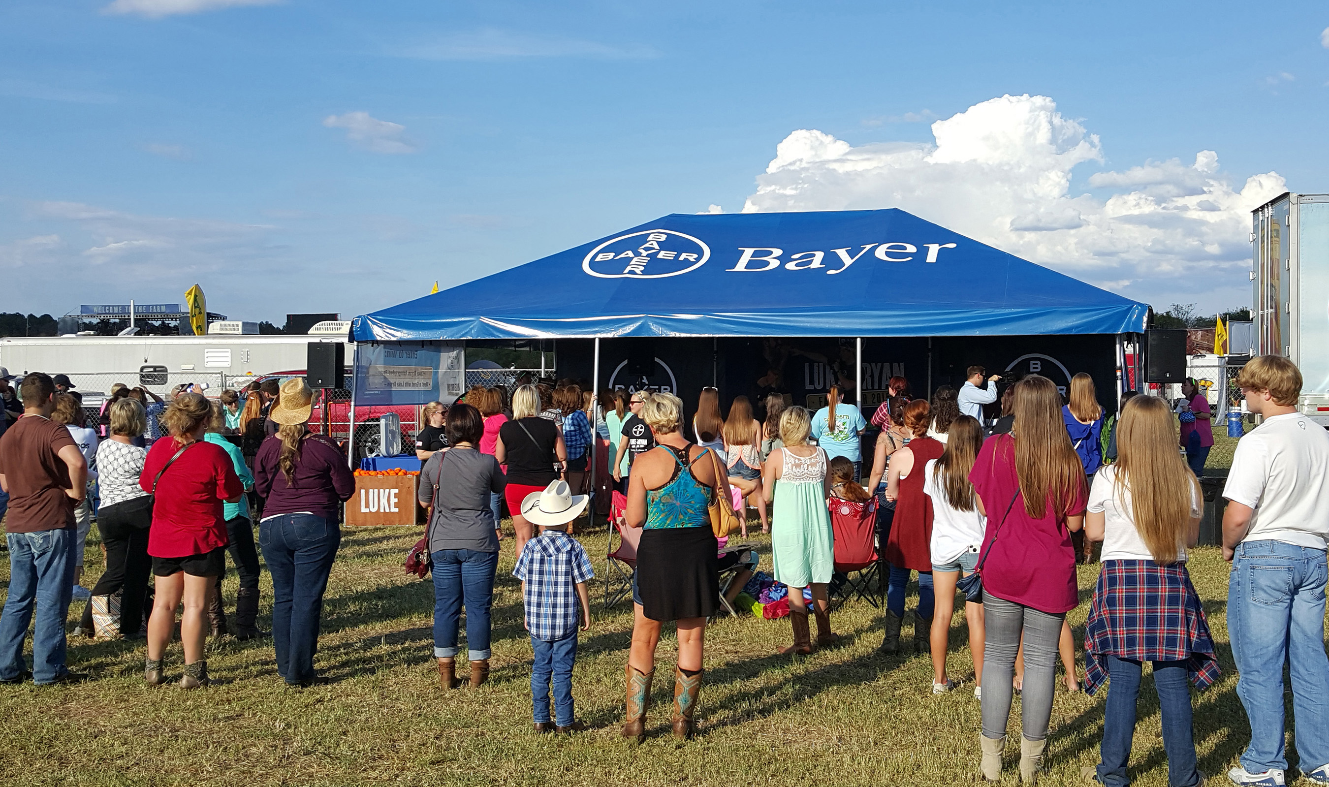 Bayer is proud to partner with Luke Bryan to give back to farming communities, and help recognize the important role farmers play in feeding the world
