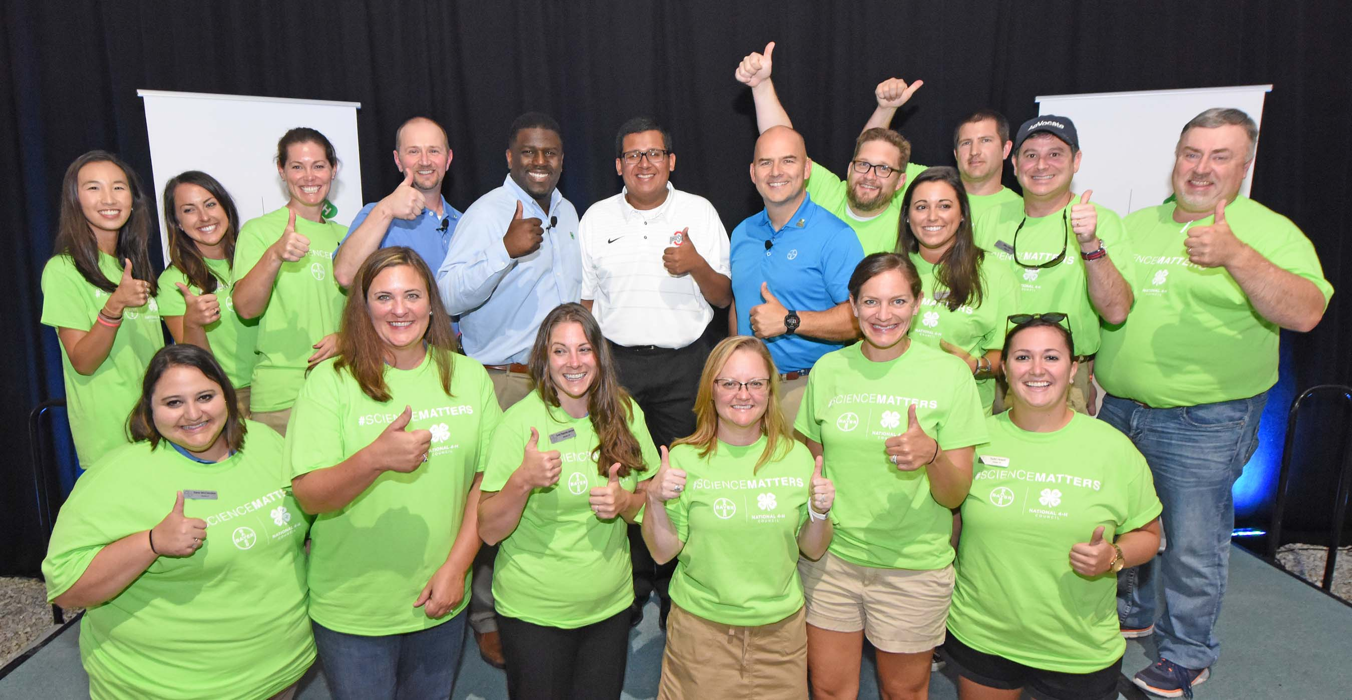 Bayer and 4-H announce new collaboration to support STEM education at Farm Progress Show 2017.