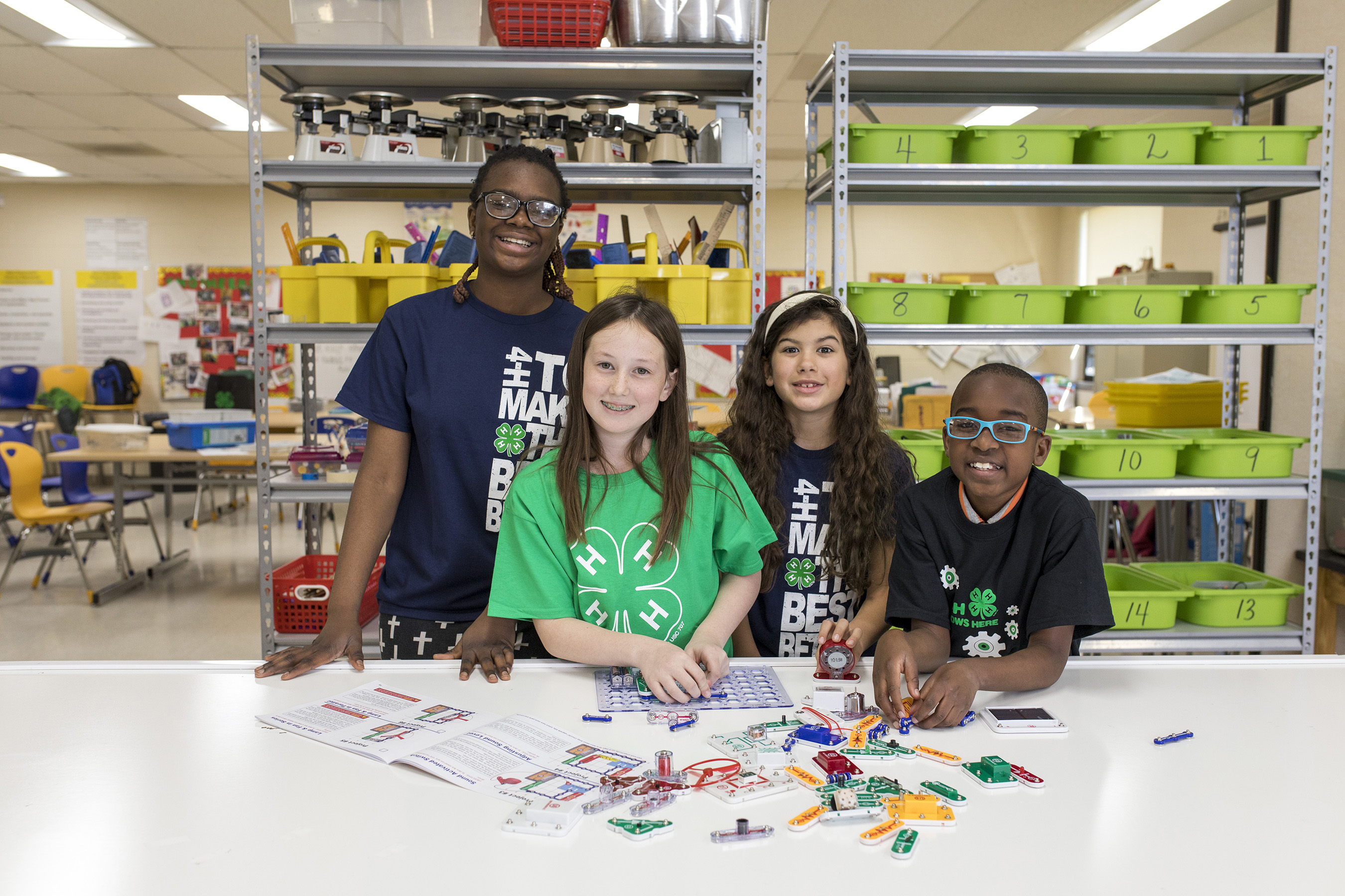 The Science Matters collaboration between Bayer and 4-H will address the need for an enhanced STEM workforce.