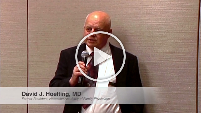 Dr. David Hoelting shares his perspective on the importance of properly treating and diagnosing patients with gout.