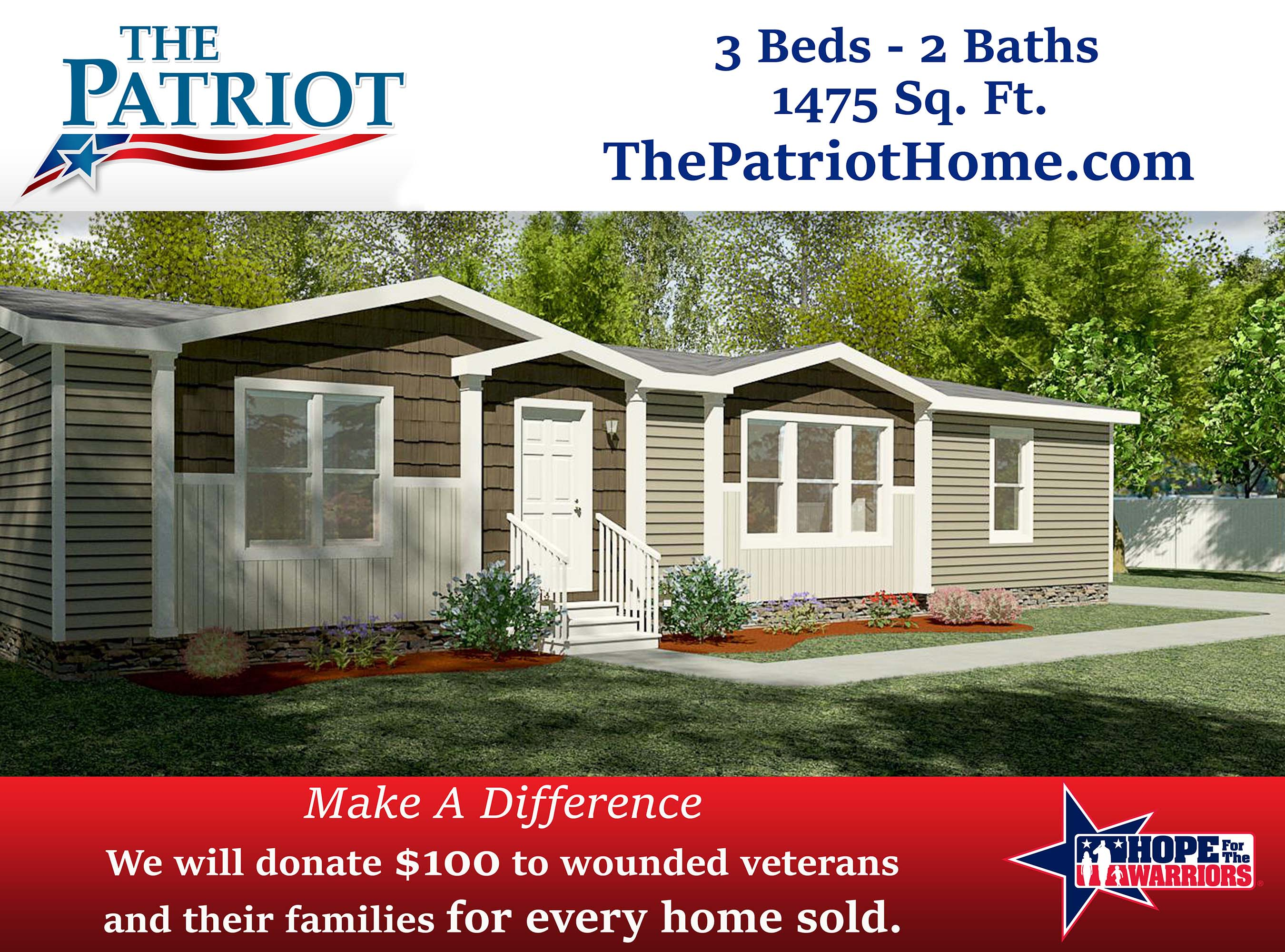 The Patriot Supports Veterans