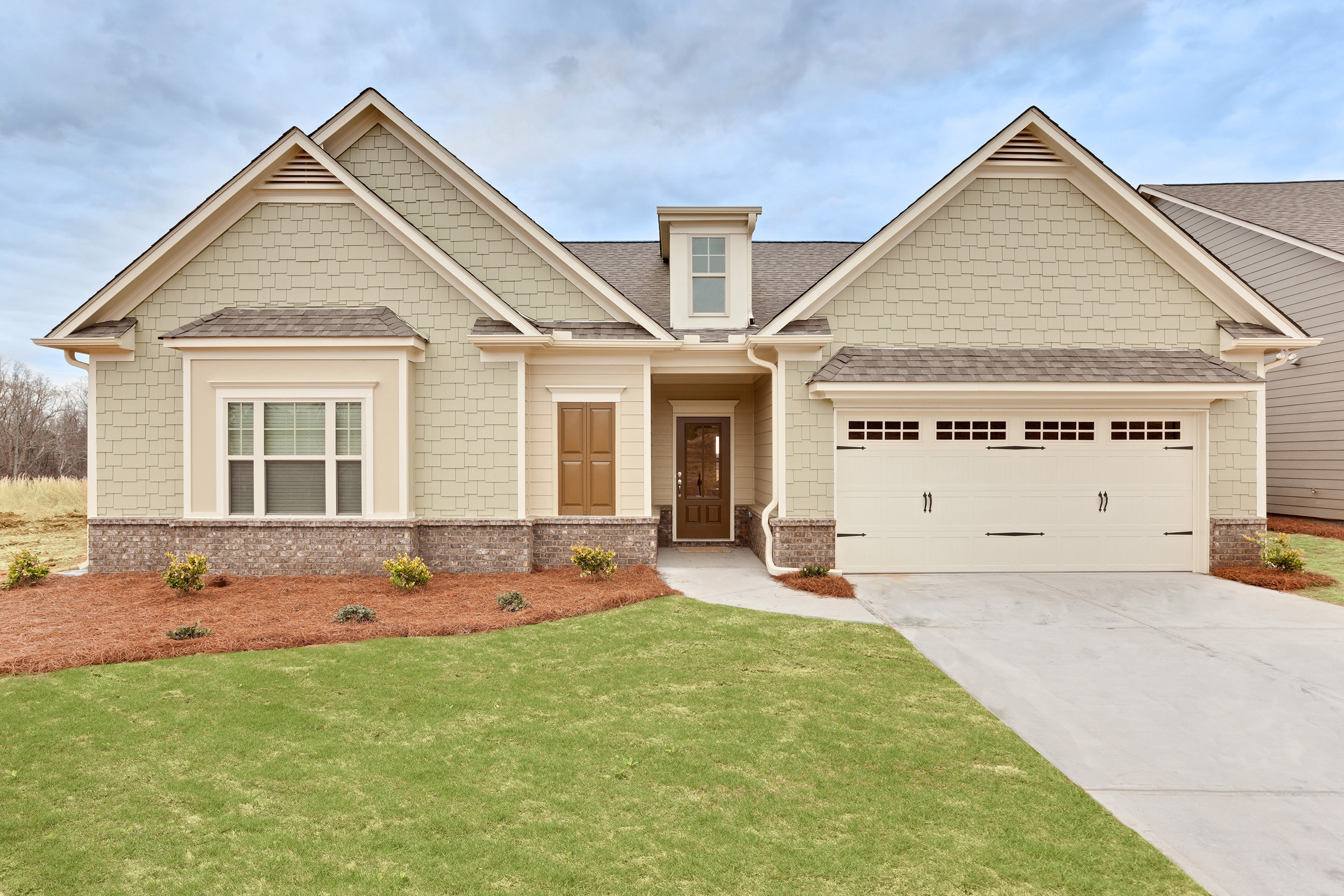 Clayton is already building site-built homes in the Atlanta area, like the one shown here.