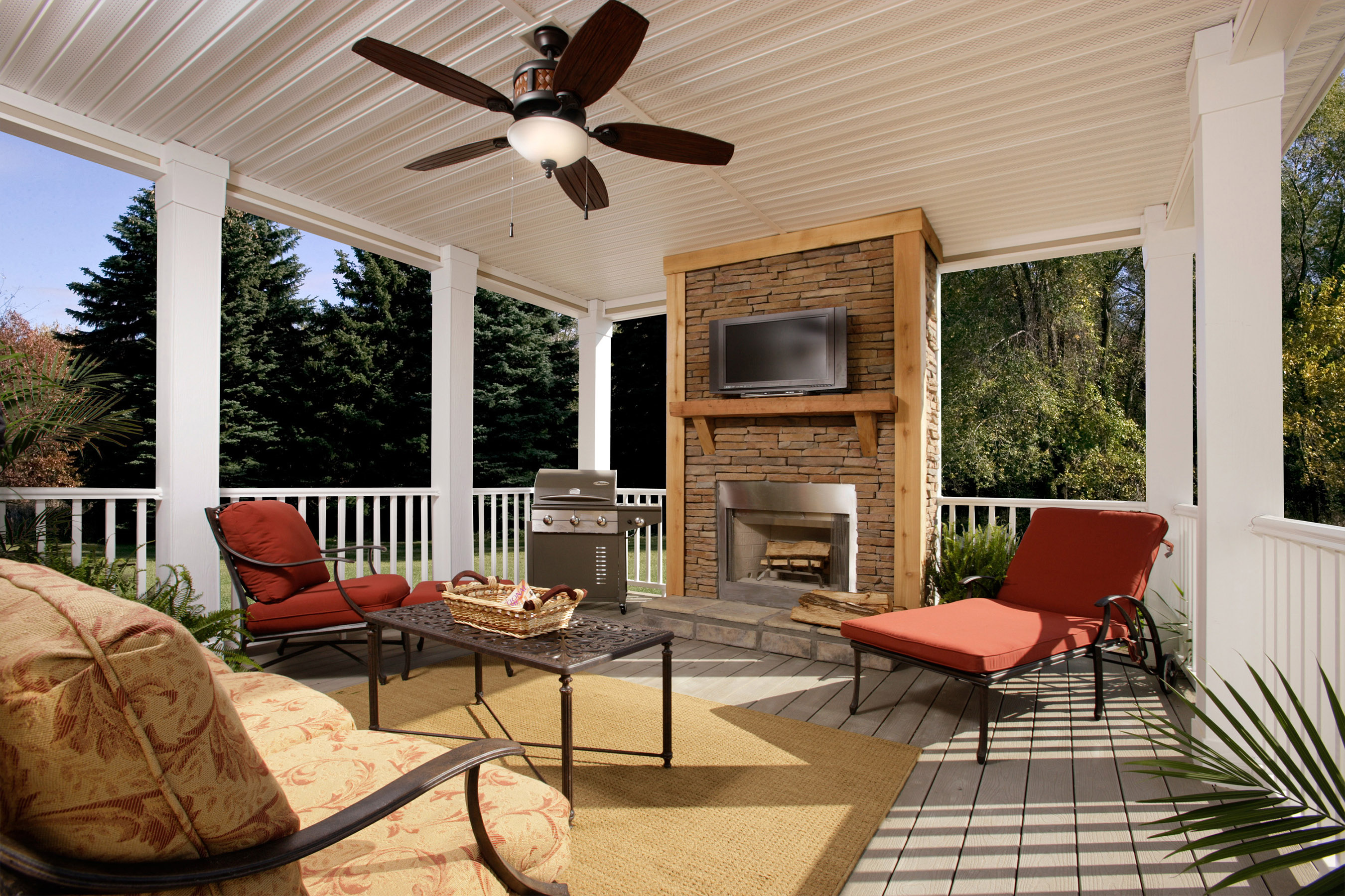 Deck out your outdoor living space with gift cards from Lowe's* through Clayton Homes' Made In The Shade Summer Sale.