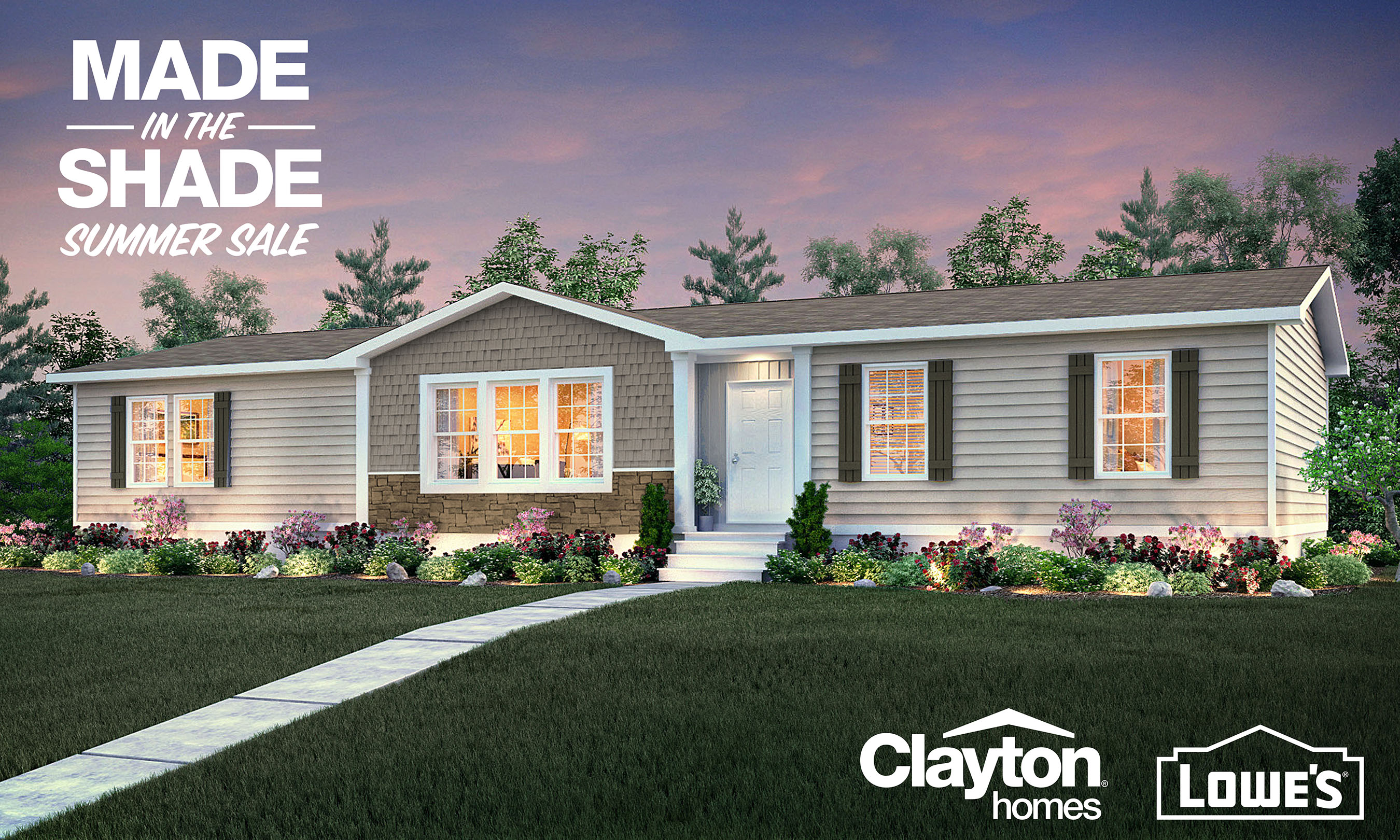 Clayton is offering its latest, limited-time sales promotion to help homebuyers get the backyard of their dreams.