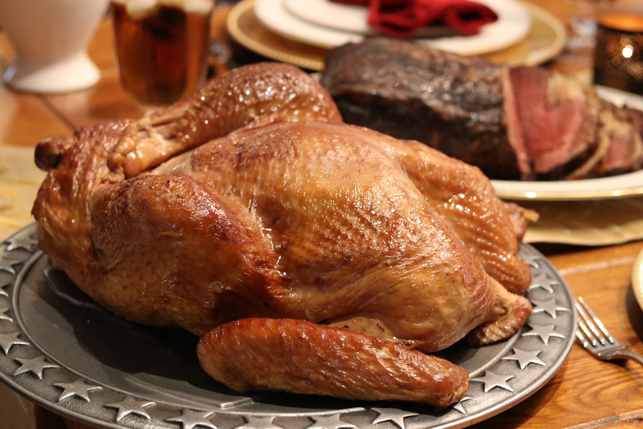Dickey's offers a selection of juicy meats to choose from this holiday season: Smoked Turkey, Cajun Fried Turkey, Spiral Cut Ham or Prime Rib