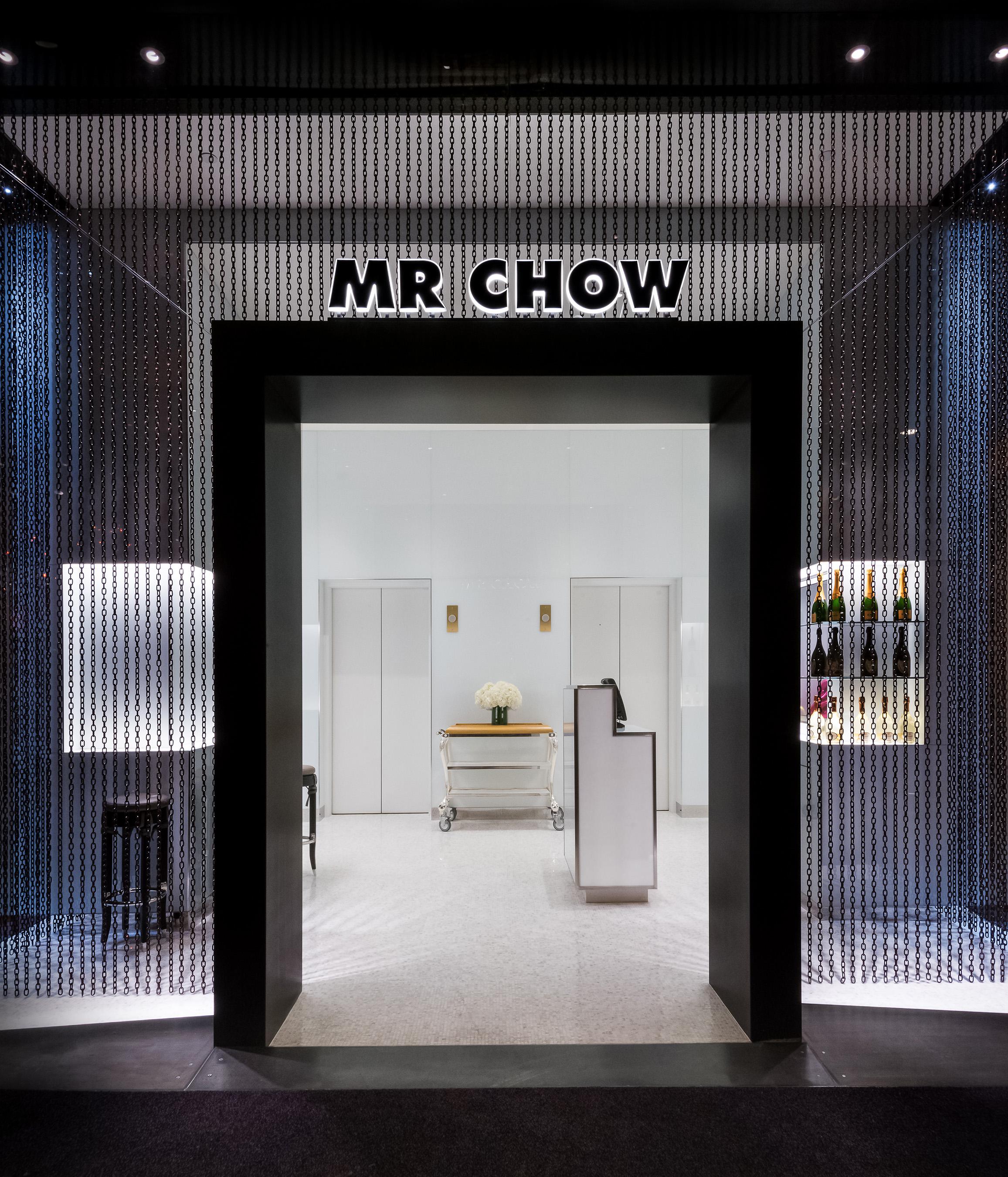 Mr. Chow Entrance