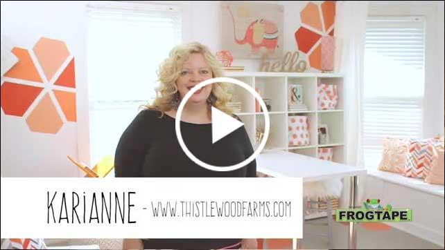 Celebrity interior designer, Taniya Nayak, announces the winner of the FrogTapes® Paintover Challenge™