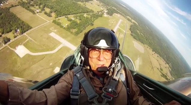 "Jack went on a fighter jet experience ride out of Angelina County Airport and experienced flight like never before. ""Granting this Wish proves that no matter what the age, people always have a sense of adventure,"" Jack said."