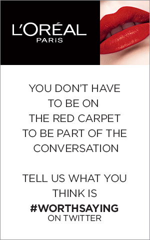 L'Oreal Paris invites you to be part of the conversation