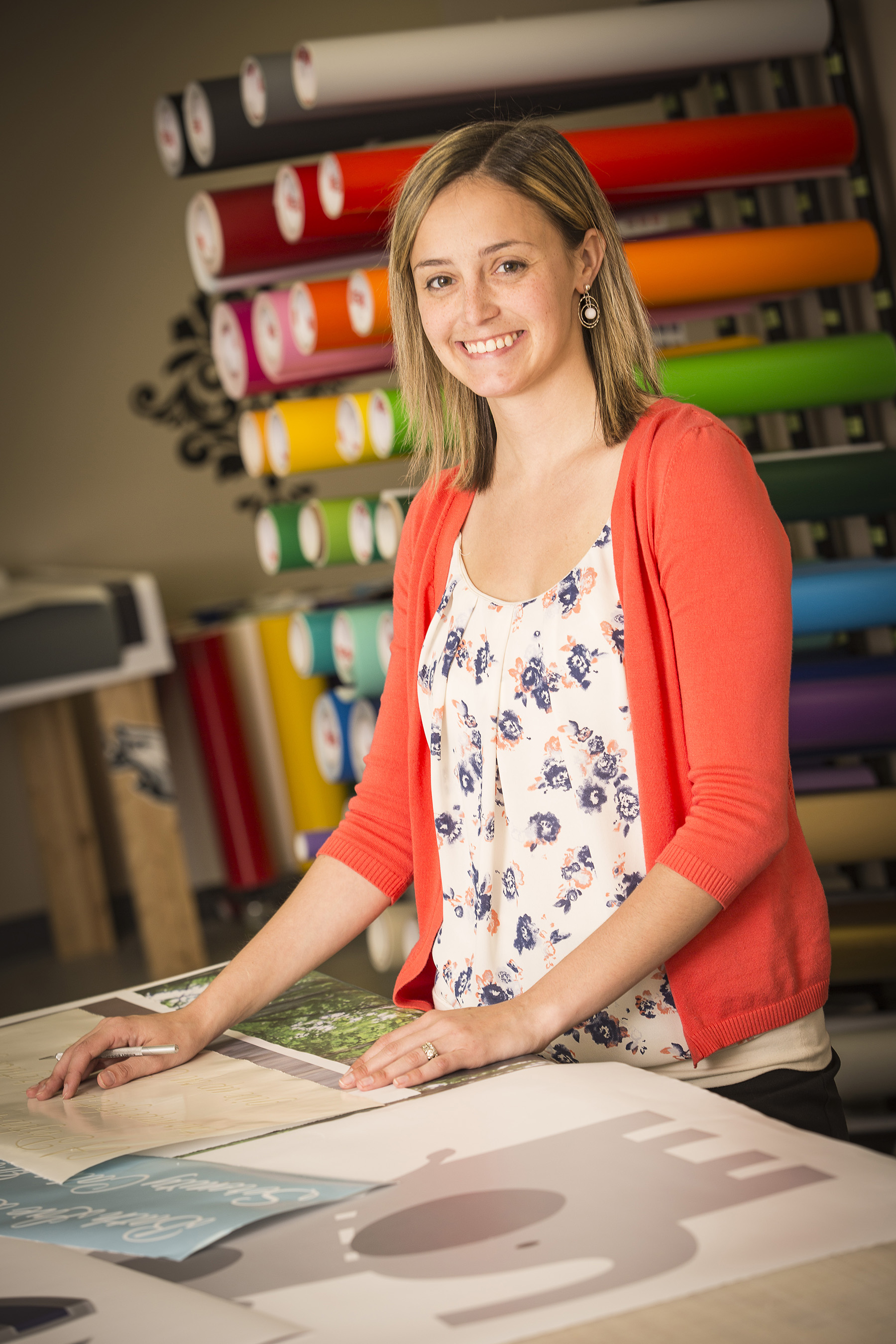 Lindsay Robinson, owner of Wall Decal World, used her local SBDC and Fifth Third Bank to help her purchase the business