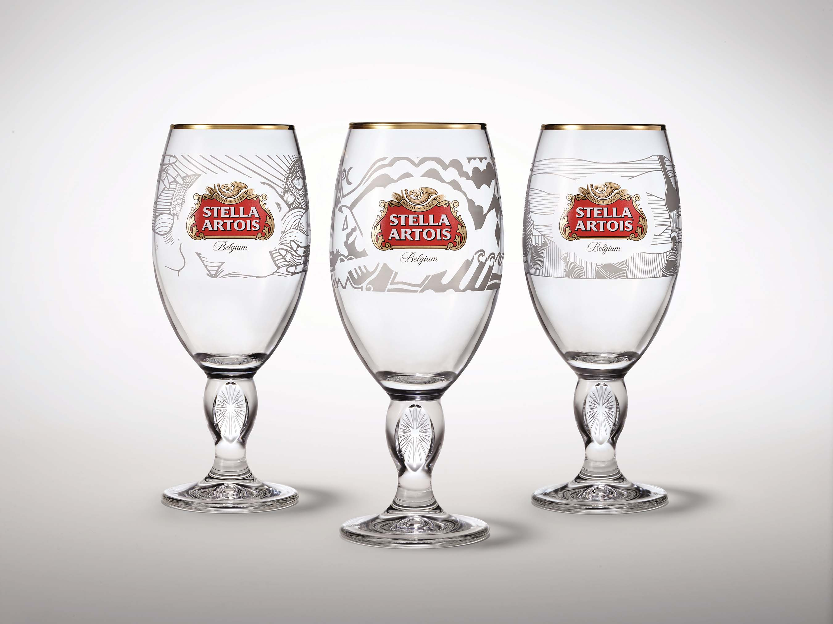 Stella Artois will release a new set of limited-edition Chalices designed by three artists from Kenya, Peru and Haiti: Daniel Cortez Torres from Peru, Wini Awuondo from Kenya and Michele Manuel from Haiti.