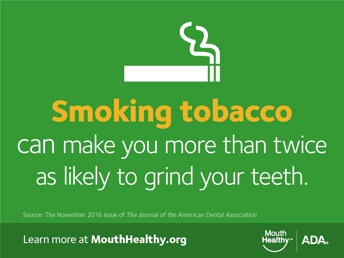 Smoking tobacco infographic