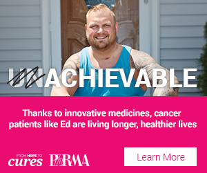 Thanks to innovative medicines, cancer patients like Ed are living longer, healthier lives.