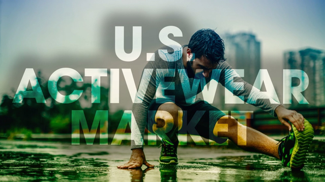 The U.S. is the world's largest activewear market, and accounts for 1 in 3 activewear sales worldwide.