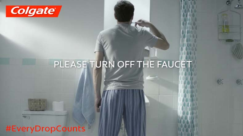 Join Colgate® and pledge to Save Water