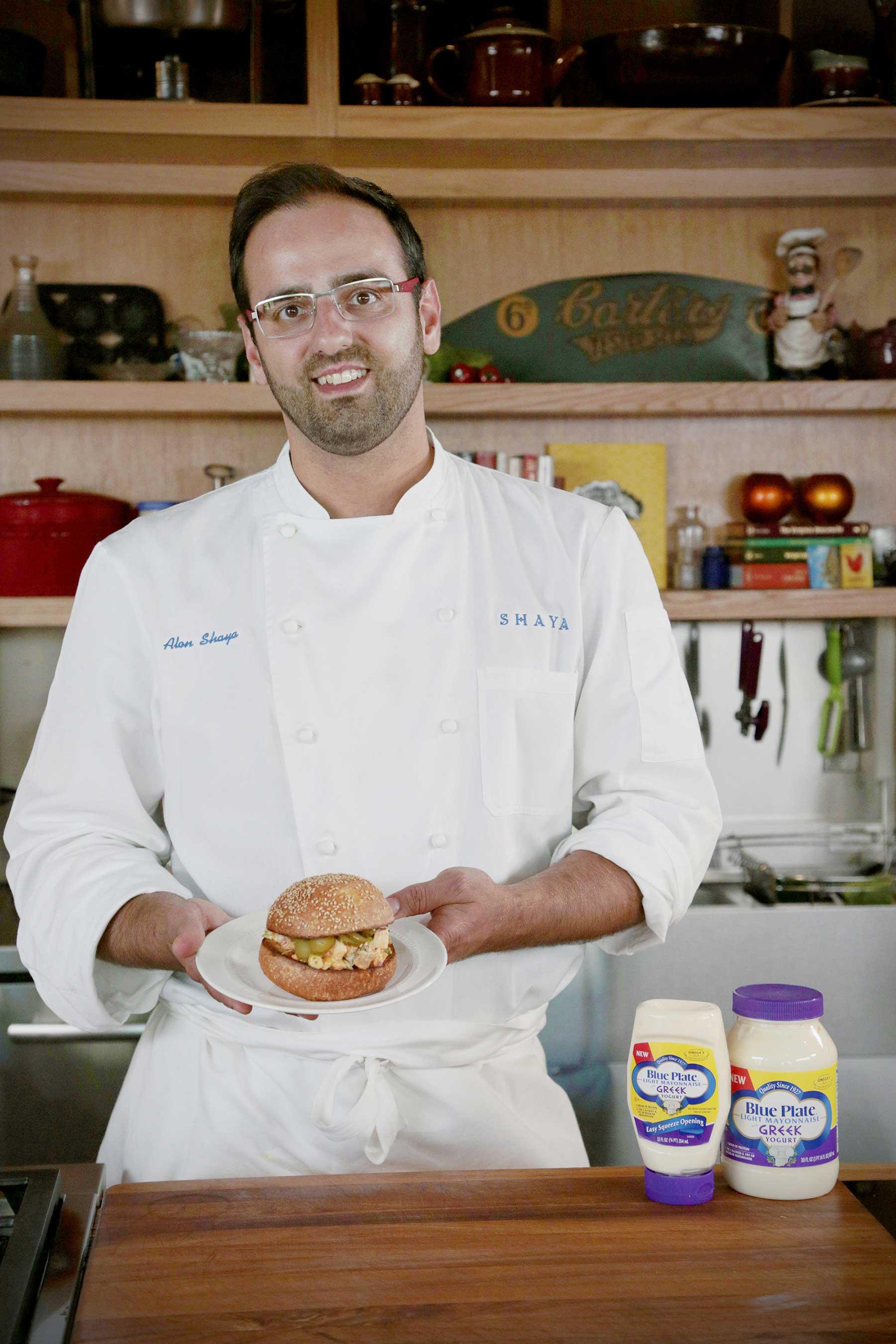 Blue Plate presents an industry first: Light Mayonnaise with Greek Yogurt. James Beard Award winner Chef Alon Shaya features it in three recipes.