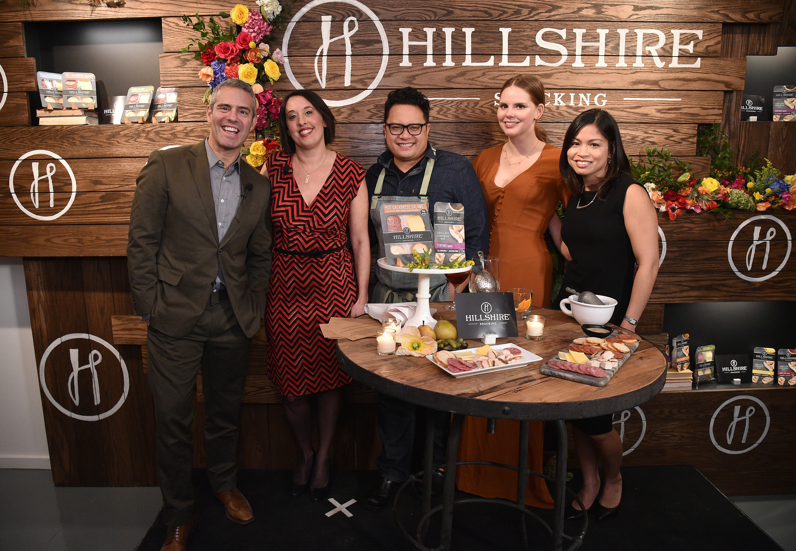 Say cheese! Chefs, mixologists & foodies celebrate snacking at the Hillshire Snacking launch event in NYC.