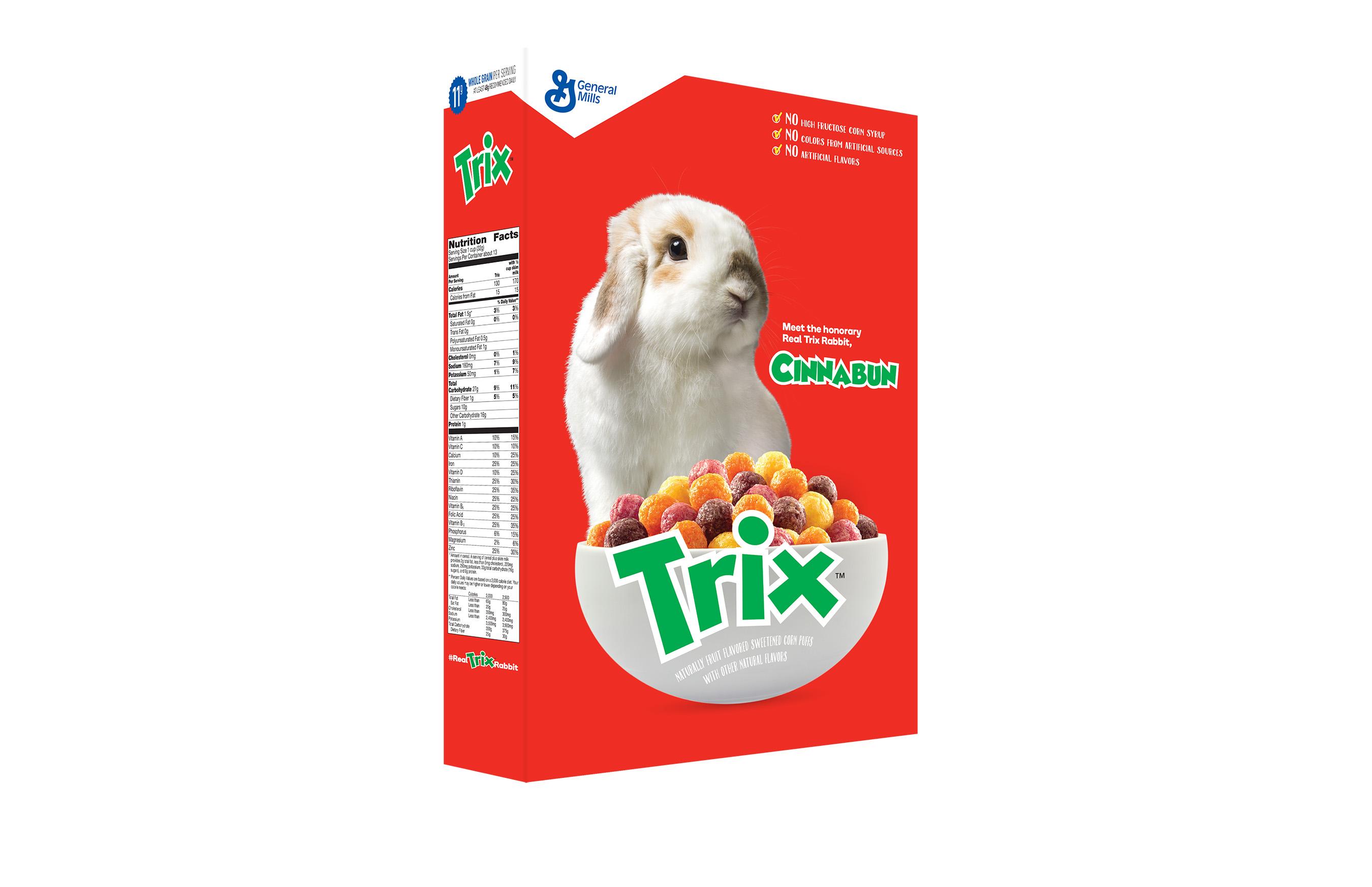 #RealTrixRabbit Box Cutout