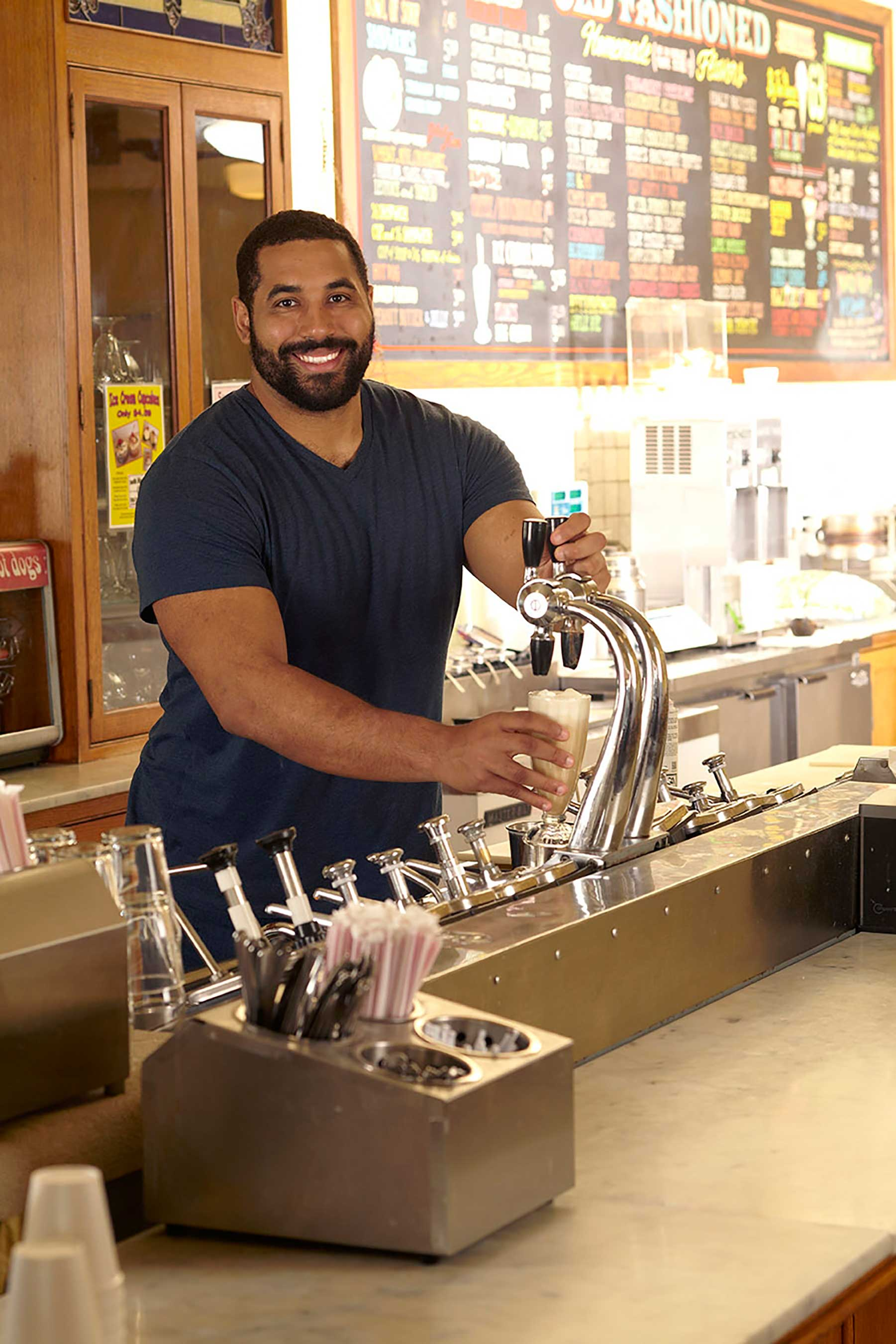 "Urschel shows students the sweeter side of STEM in new ""Ice Cream, Cool Science"" physics activity."
