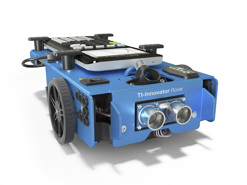 Texas Instruments introduces its first educational robot, the TI-Innovator™ Rover