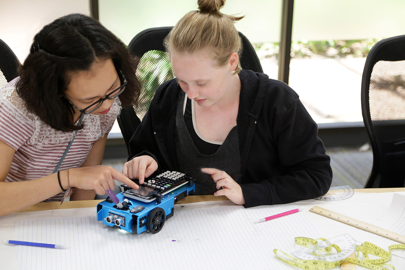 Students have so much fun with Rover, they don't realize they are learning important STEM concepts.