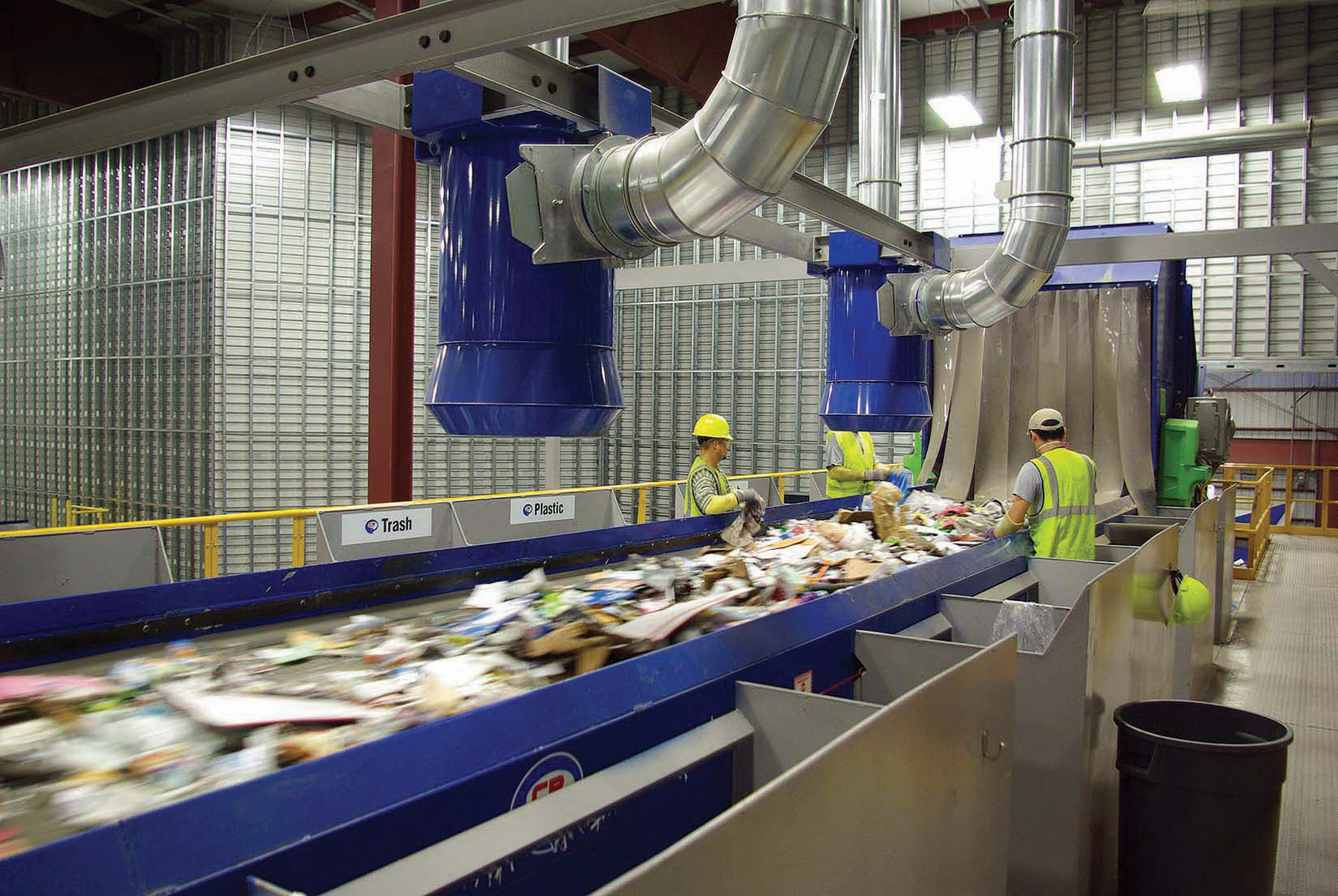 With 67 recycling centers nationwide, recycling is a core component of how Republic Services helps preserve our planet.